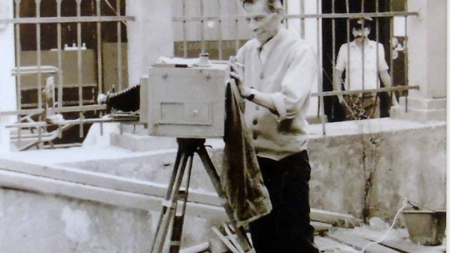 παλιάς φωτογραφίας Λευκαδίτικο Στεκι