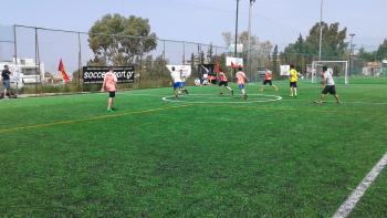 Ολοκληρώθηκε η πρώτη φάση στο πρωτάθλημα ποδοσφαίρου 5Χ5 της ΟΒΣΑ | 902.gr